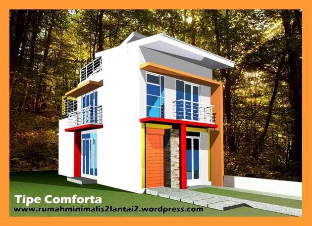 Rumah Minimalis 2 Lantai Tipe Comforta Memiliki 3 Ktidur Besar 3 5x3
