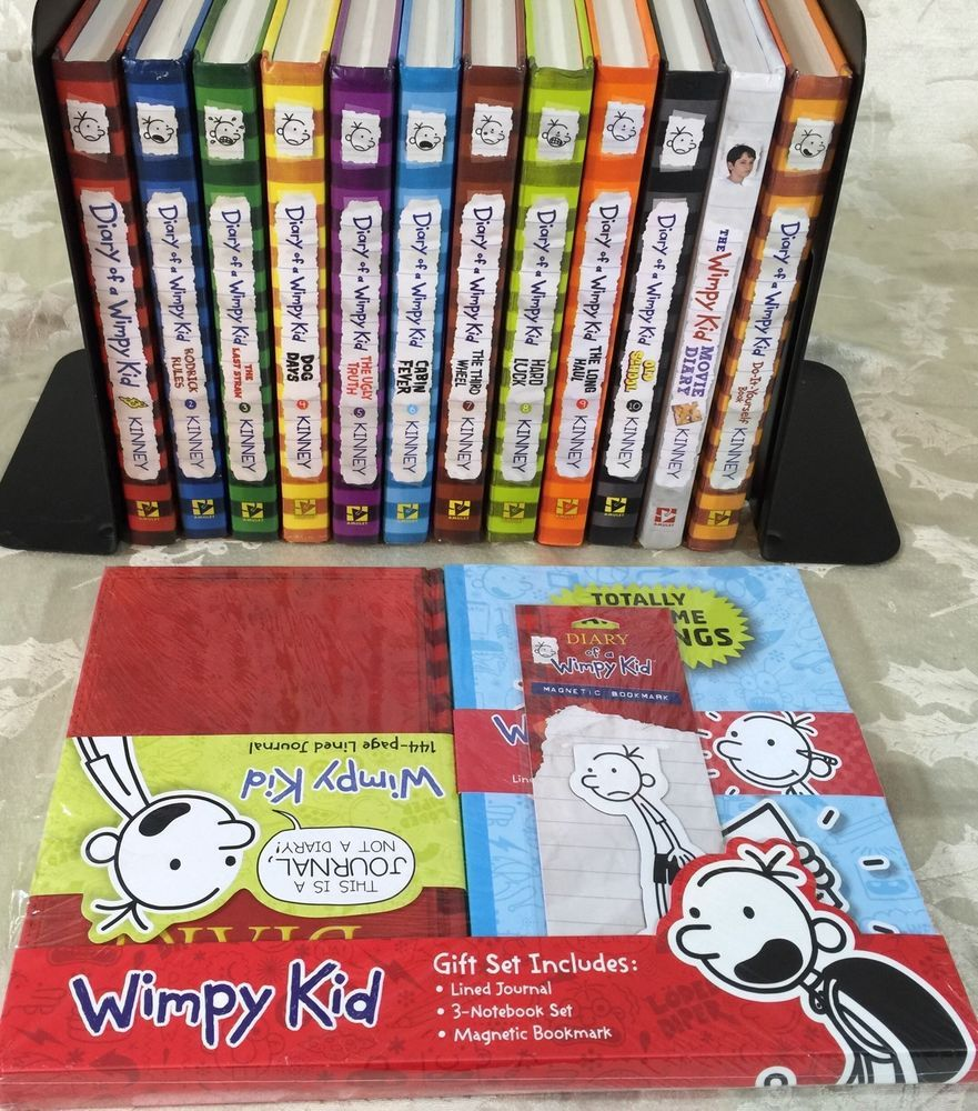 Lot of 12 diary of a wimpy kid books complete 1 10 movie diy lot of 12 diary of a wimpy kid books complete 1 10 movie diy journal solutioingenieria Image collections