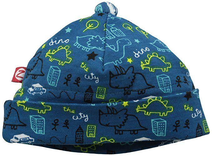 Zutano Baby Boys Newborn Dino City Hat Pagoda 3 Months Baby Boy Newborn Baby Boy Newborn