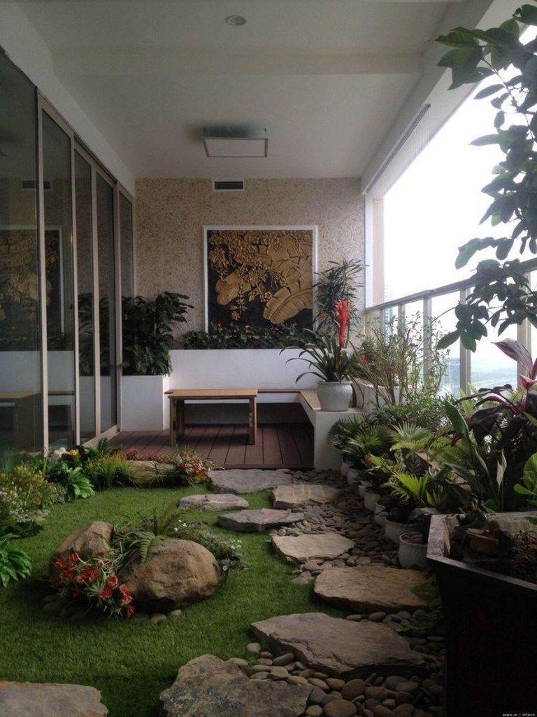 Photo of Balcony decor, Apartment balconies, Apartment balcony decorating, Balcony garden…