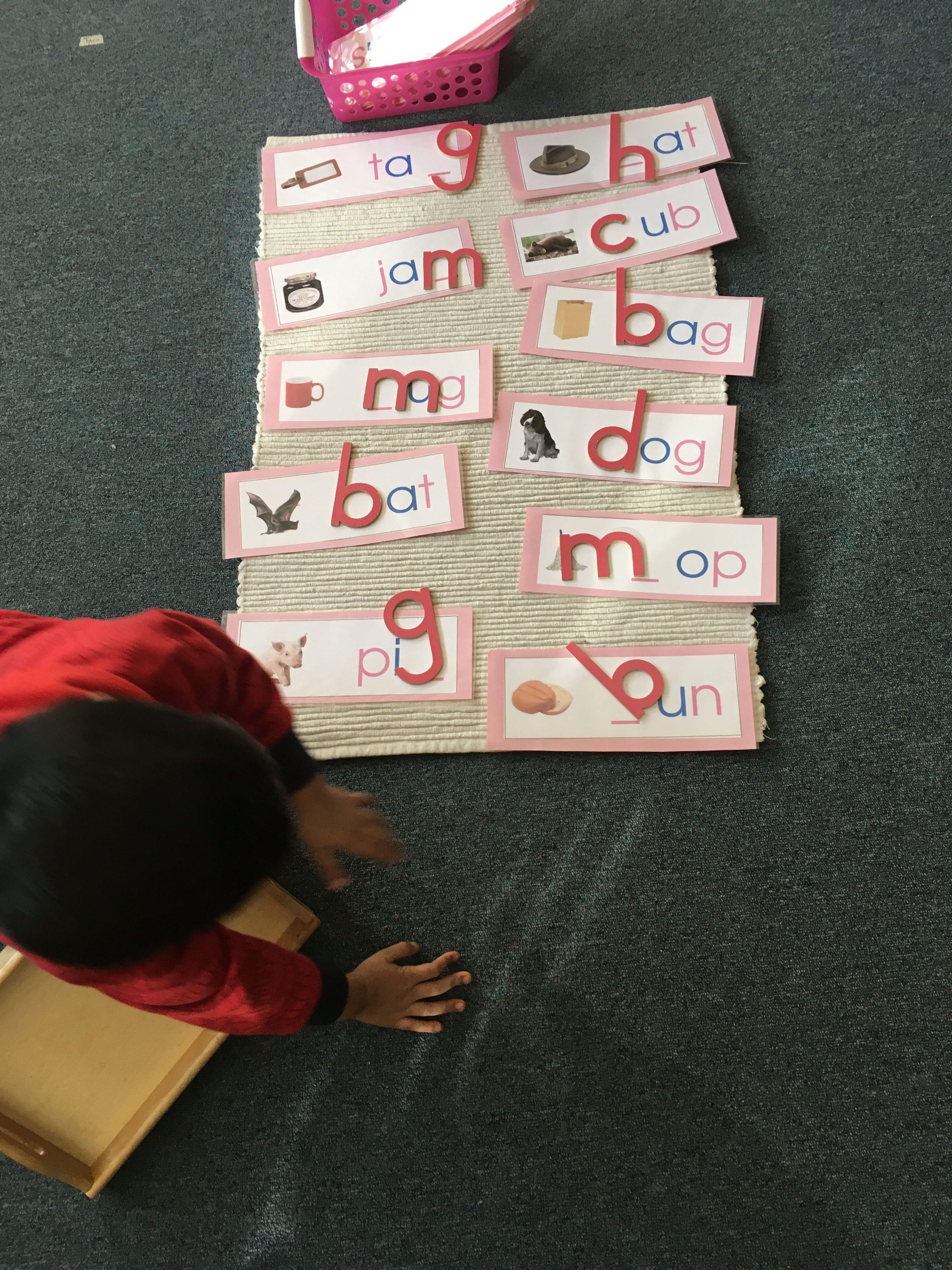 Montessori Spelling Rhms Montessori Montessorischool