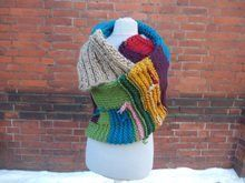 Photo of Bona Notte ideas with remnants of stoles or scarves knit from wool remnants of all kinds in … – fashion men