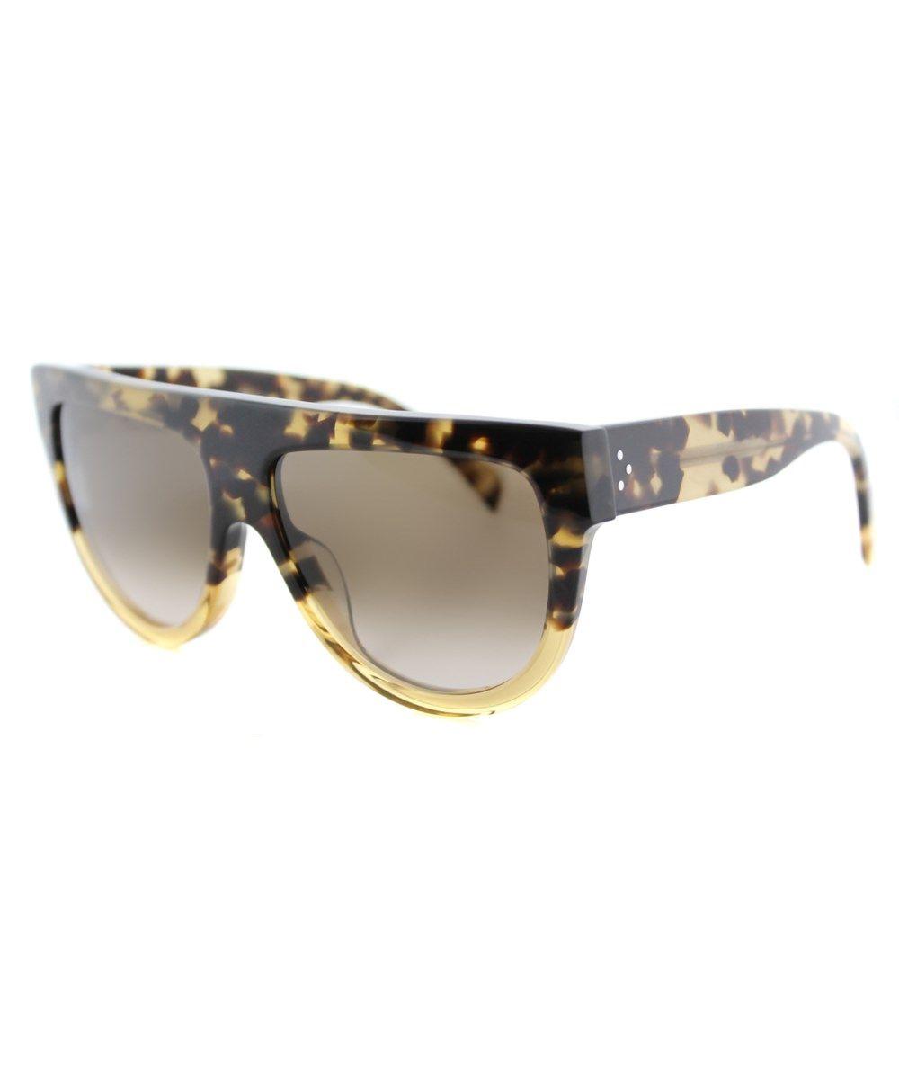 789bfcbce9f CELINE Shadow Cl 41026 S Plastic Flat Top Sunglasses.  celine ...