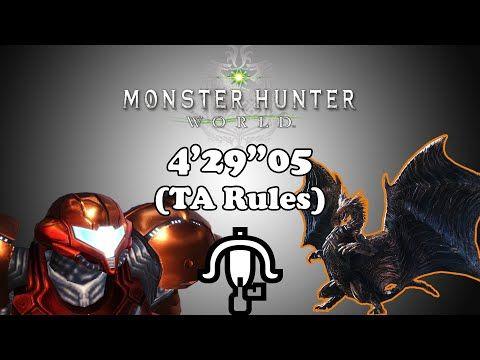 MHW PC w/ Mods] Arch Tempered Kushala Daora - LBG TA Rules - 4'29