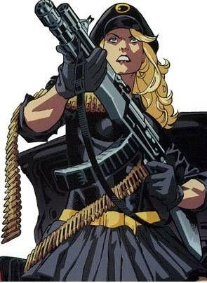 Lady Blackhawk screenshots, images and pictures - Comic Vine