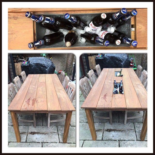 Table Bar De Jardin En Bois Ipe By Olisting Pallet Table Home Decor Decor