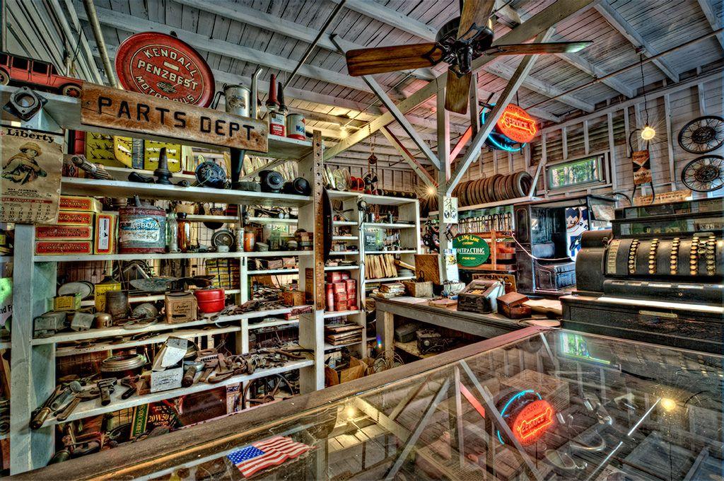 Retro Auto Parts Store