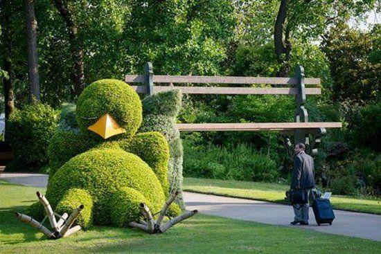Le poussin nantais au jardin des Plantes. Nantes, France | Funny ...