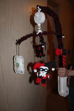 Musical Harley Quinn Baby Mobile by DeadlyDarlings on Etsy, $52.00...