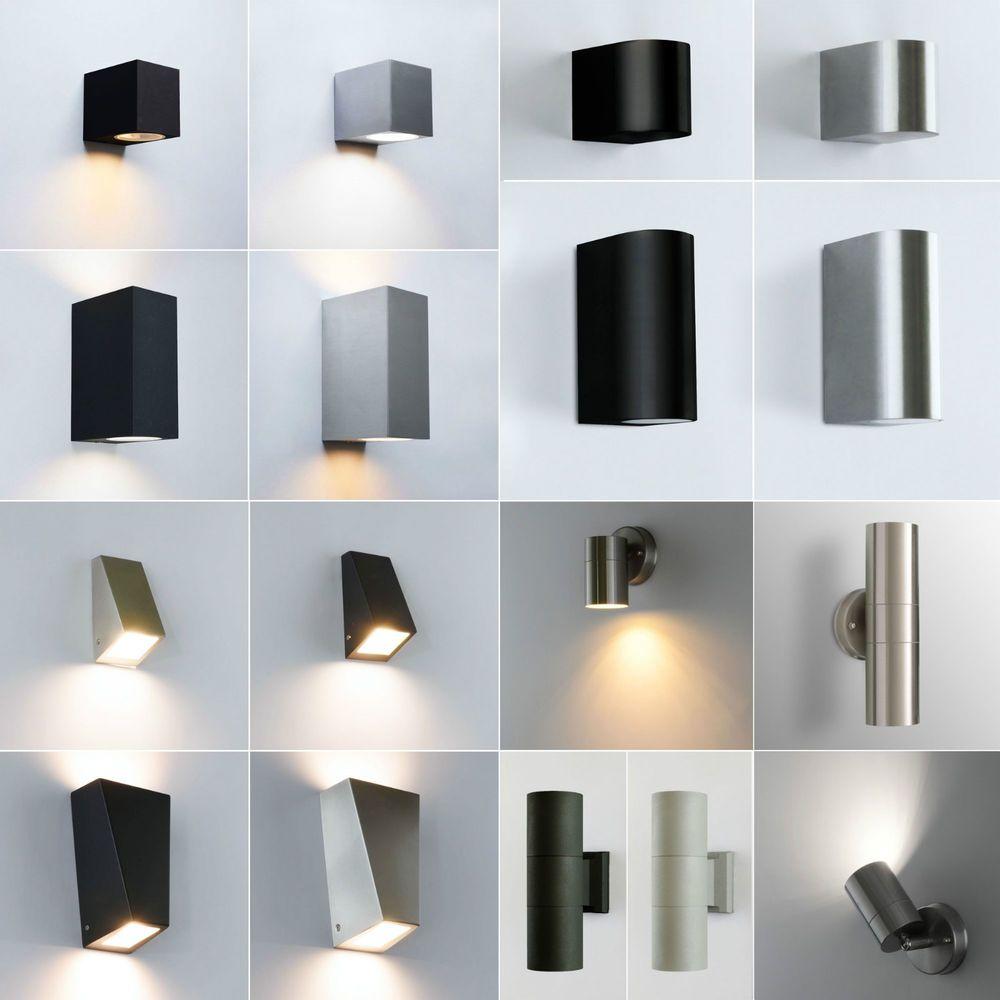 Aussenwandleuchte Aussenleuchte Gu10 Aussenlampe Wandleuchte Wandlampe Leuchte X Ebay Aussenlampe Aussenwandleuchte Wandlampe