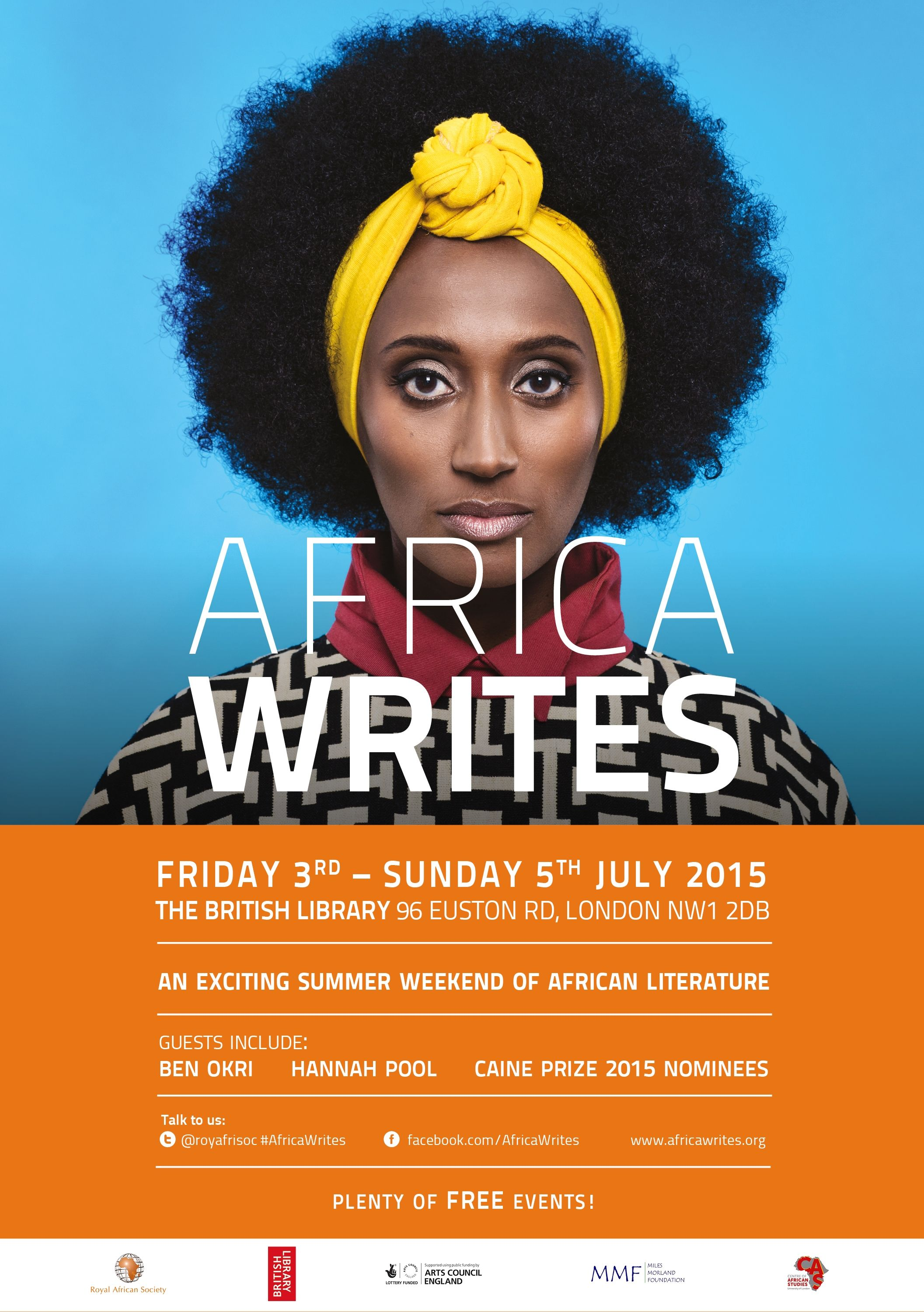 Africa Writes at the British Library, Friday 3rd Sunday