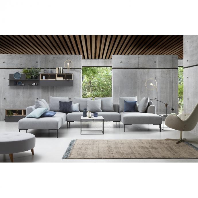 Vazzola corner sofa with chaiselongue – Lounge sofa - ID Design ...