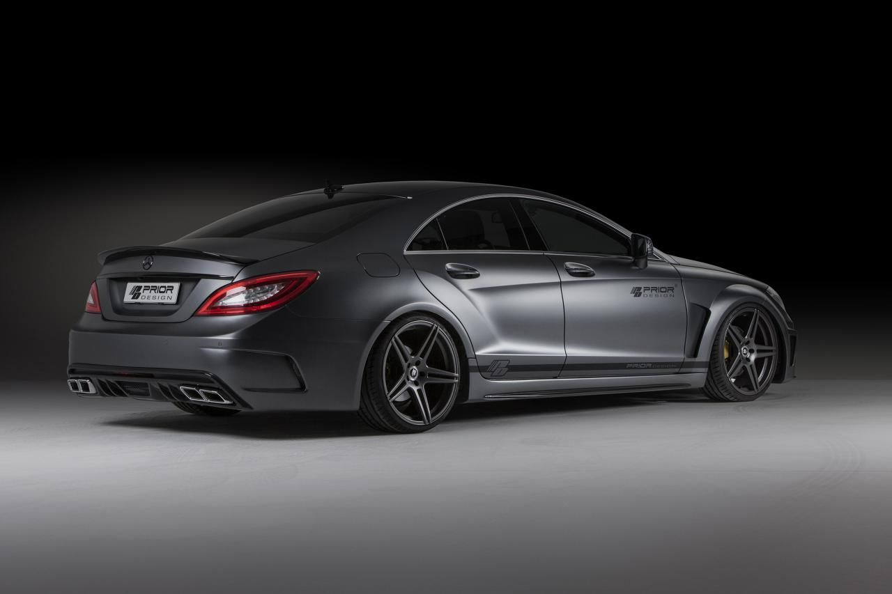Mercedes-Benz CLS (W218) PD550 Black Edition by Prior Design (2013