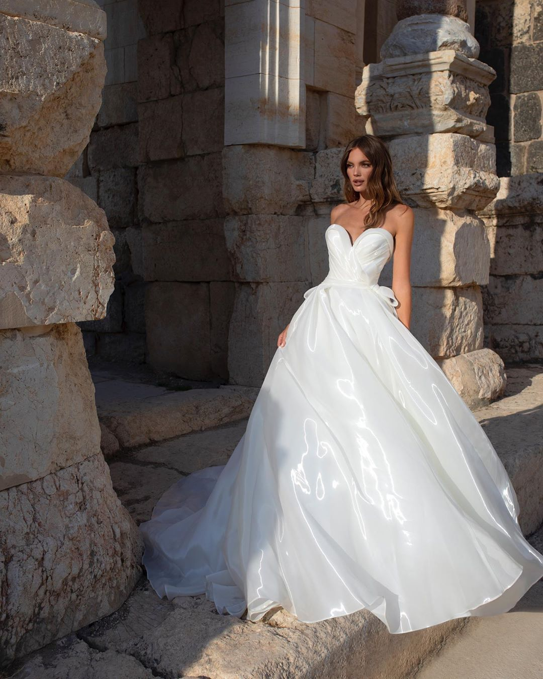 Pnina Tornai On Instagram New Fabric For A New Collection Are You Loving This Liquid Org Pnina Tornai Wedding Dress Ball Gowns Wedding Pnina Wedding Dresses