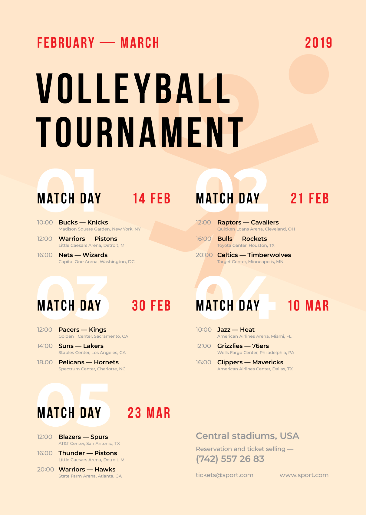 Sports Schedule Event Poster In 2020 Event Poster Poster Poster Template