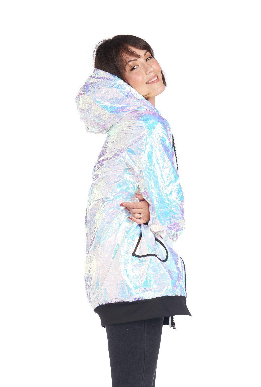 Marathon Mama Jacket - Ice Blue - Final Sale #area51partyoutfit