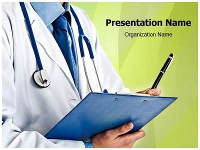 Doctor Prescription PowerPoint Presentation Template is one of the ...