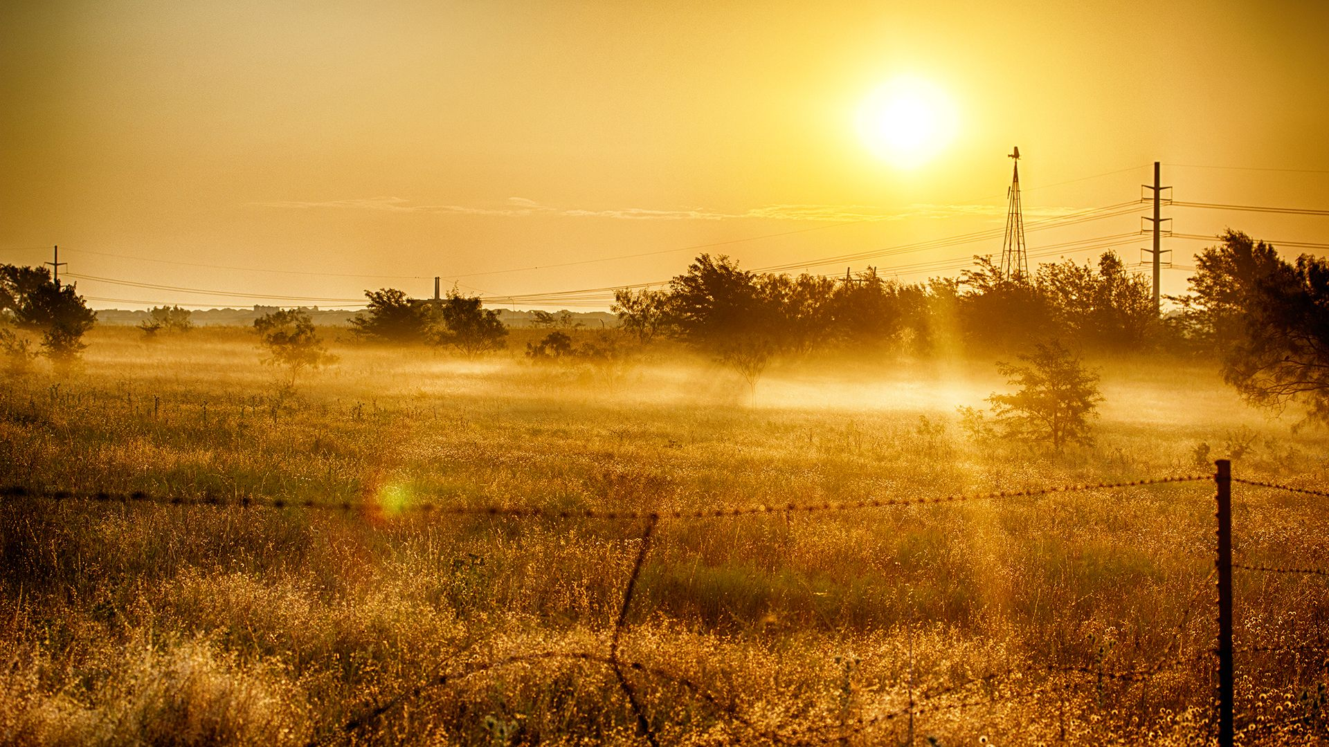 country setting wallpaper | Country Sunrise HD Wallpaper - HD ...