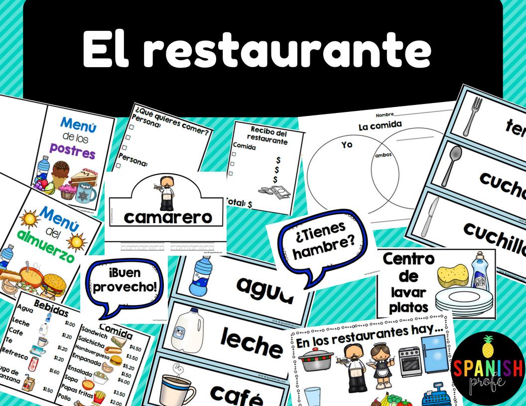El Restaurante La Comida Spanish Restaurant Unit