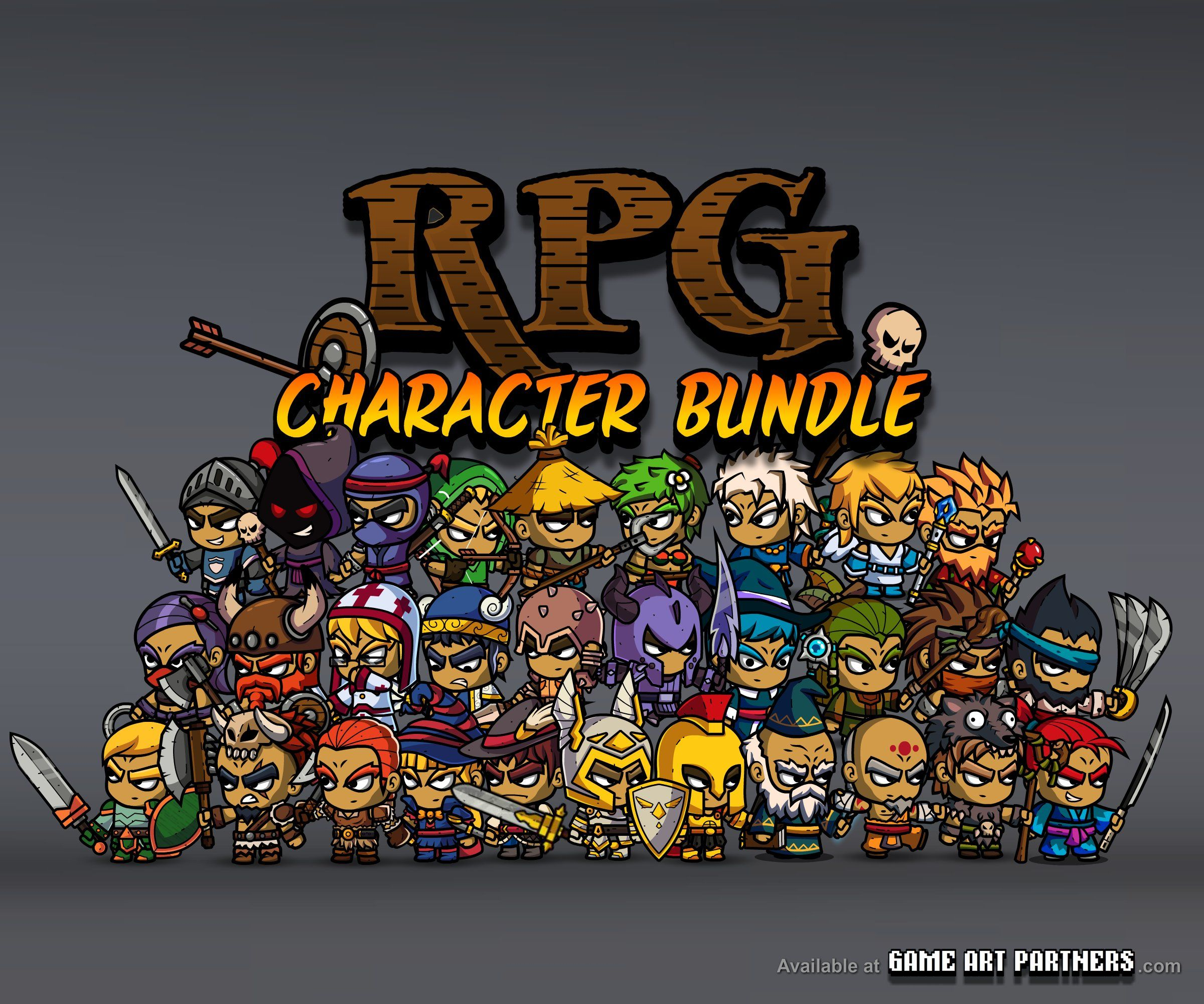 Royalty Free 2D Game /Sprites Art from http://gameartpartners.com ...