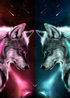 Yin Yang Wolf