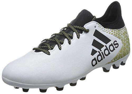 new styles e91d1 8d5dd adidas X 16.3 AG, Botas de Fútbol para Hombre, Blanco (Ftwbla  Negbas   Dormet), 40 23 EU