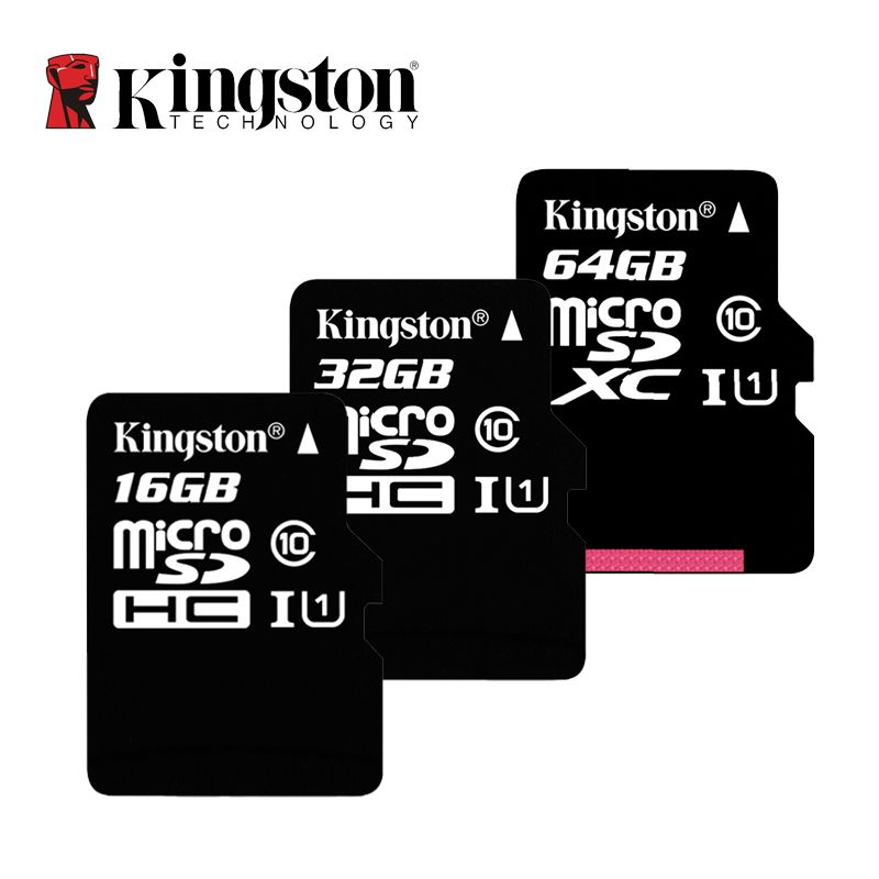 Kingston Class 10 Micro Sd Card 16 Gb 32 Gb 64 Gb 128 Gb 256 Gb