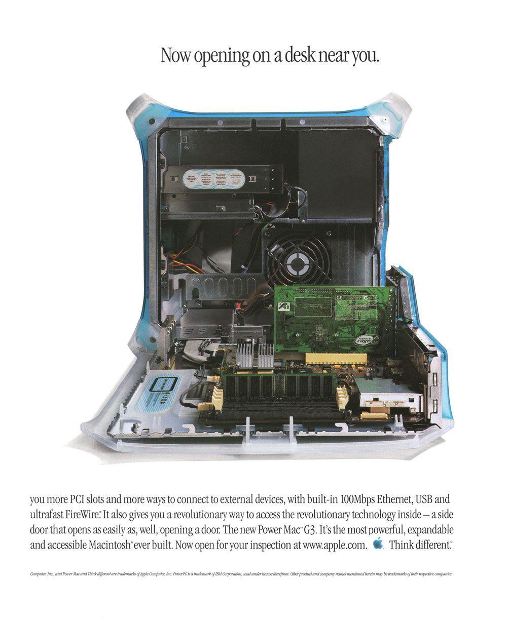 1999 Power Macintosh G3 Ad | Apple_Old Macs_iphone_ipad ...