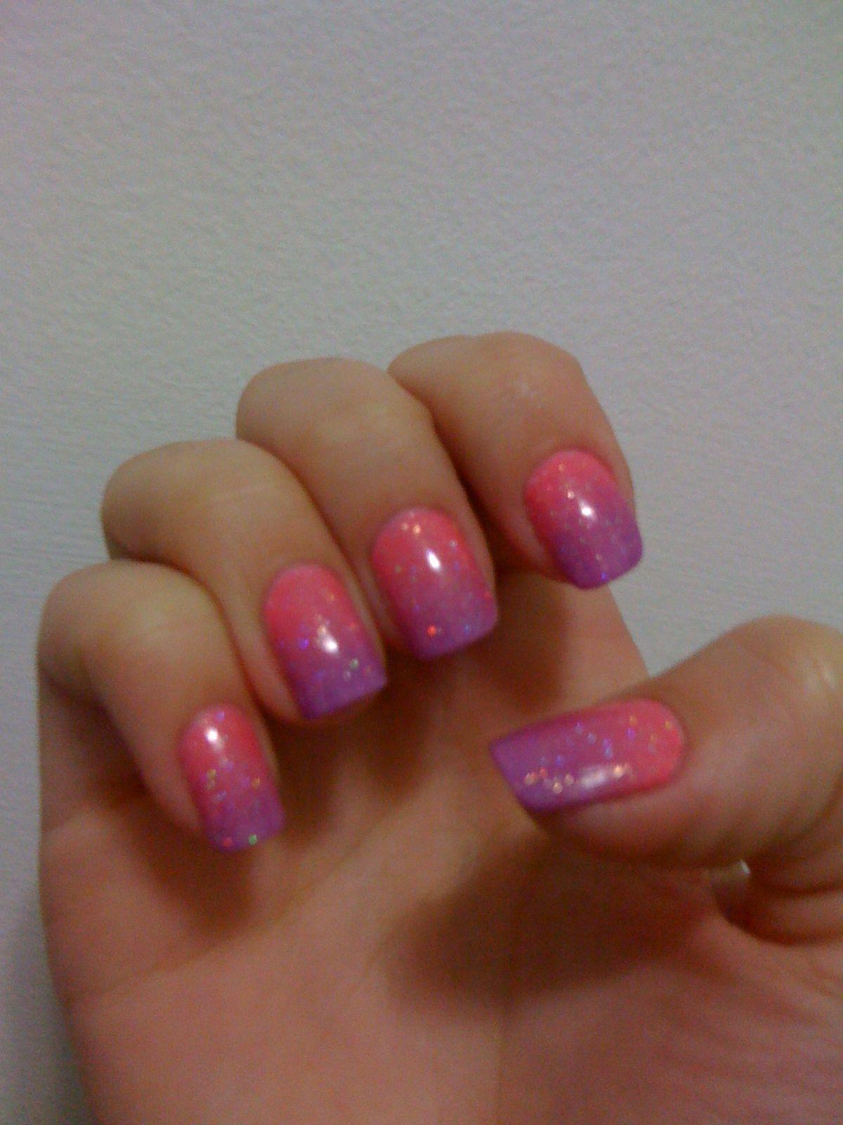 Sunset nail art | Nail art, Sunset nails, Nails