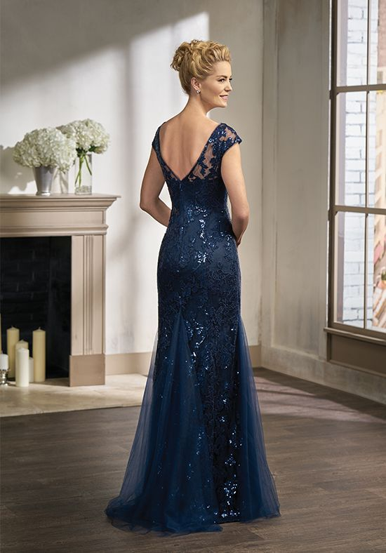 b174bc8ecc Jade Couture K198011 Blue Mother Of The Bride Dress