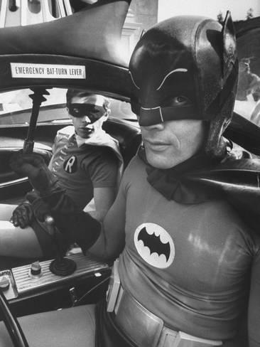 Batman Adam West and \