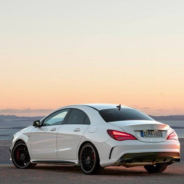 Not To Be Overshadowed By Its Big Brother The Cla45 Amg Is Also