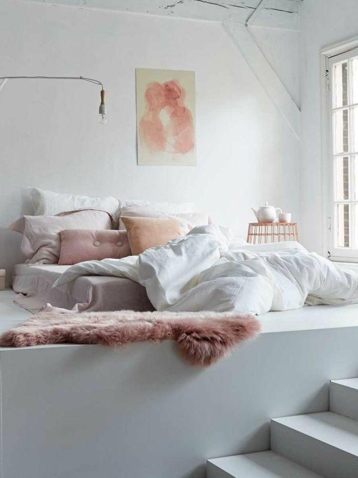 la deco chambre romantique 65 id es originales future apartment pinterest. Black Bedroom Furniture Sets. Home Design Ideas