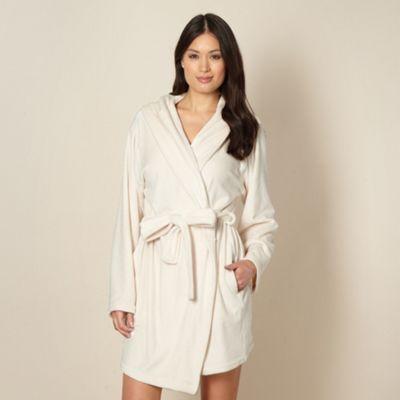 B by Ted Baker Cream short moleskin dressing gown- at Debenhams.com ...