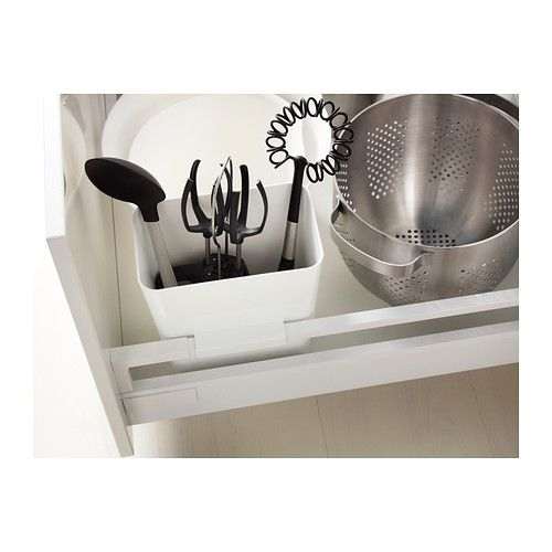 VARIERA Utensil holder, white Utensil racks, Utensils and - bodenbelag für küche