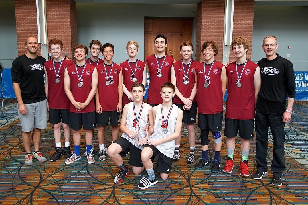 Congrats To Rvc Junior Boys 14 1 Who Finished 2nd In Gold At The Boys East Coast Championships Tournament Over Memorial Day We Volleyball Clubs Boys Volleyball