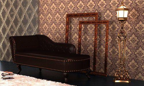 Recamiere Chaiselongue chesterfield recamiere chaiselongue lounge sofa chaise relax liege