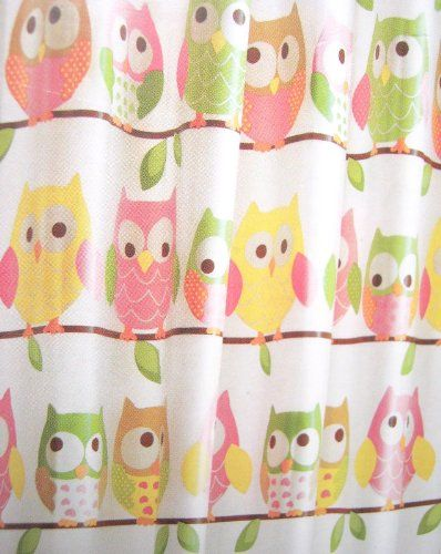 Circo Owl Bath Collection | Circo Shower Curtain   Love U0026 Nature Collection    Owls