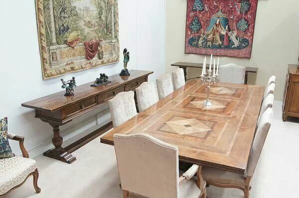 Nice Chatsworth Fine Furniture, Cantley Dining Table Setting