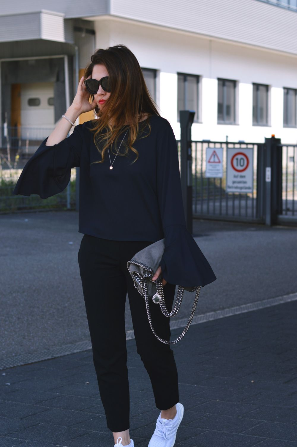 21575aca4  Adidas  UltraBoost  TripleWhite  StellaMcCartney  Falabella  Sleeves  Ultraboost Outfit Women