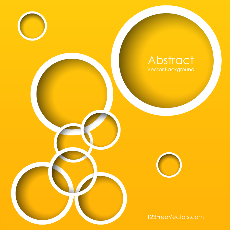Yellow Circle Background Illustrator | Free Vectors | Free vector