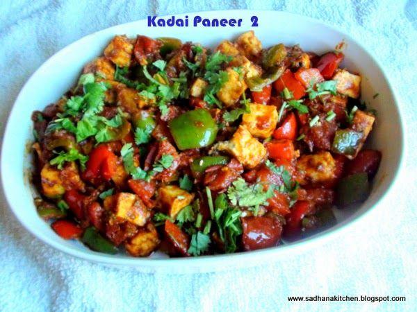pin on vegetarian on hebbar s kitchen kadai paneer id=59070
