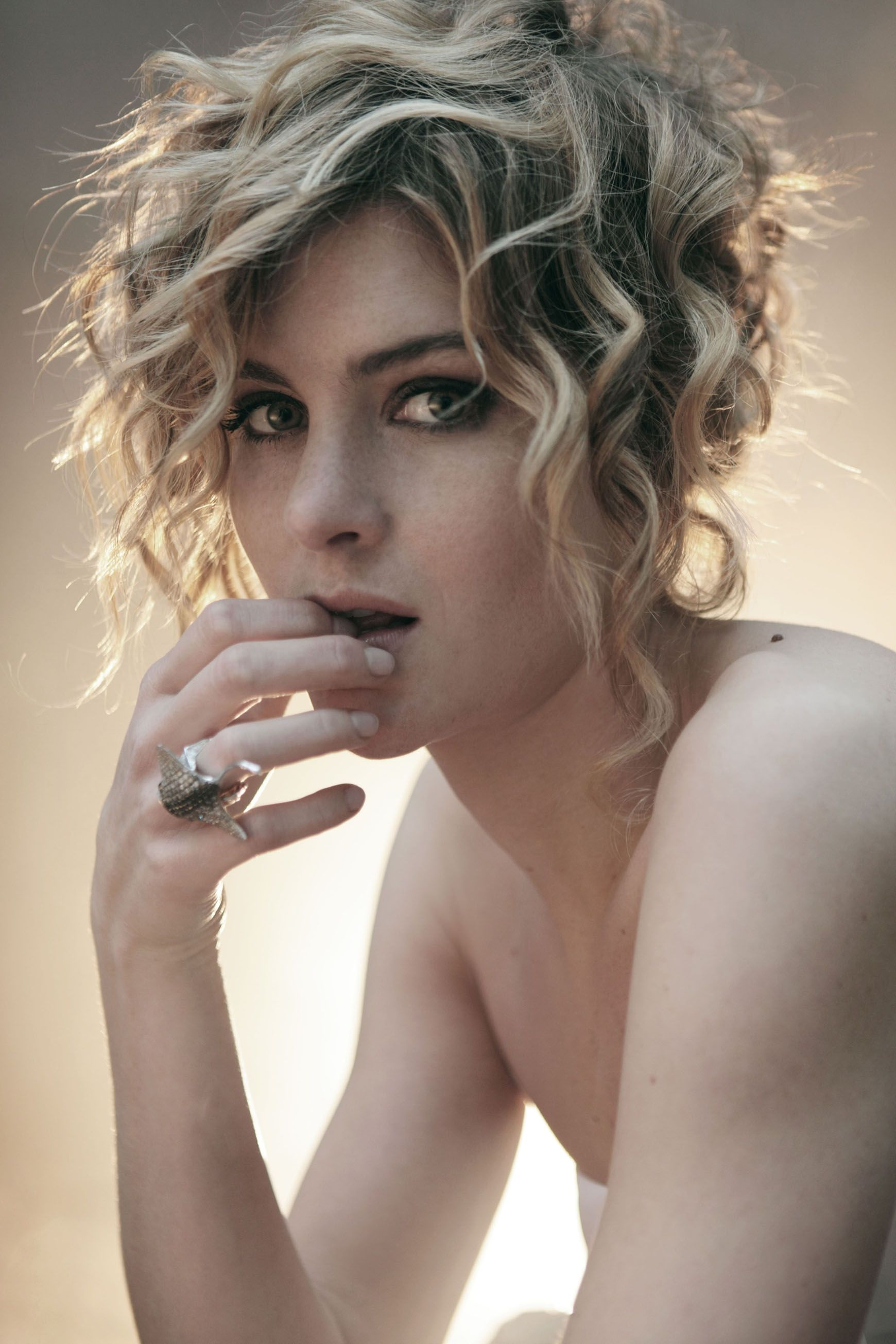 Vittoria Puccini, actress | Vittoria, Hair inspiration