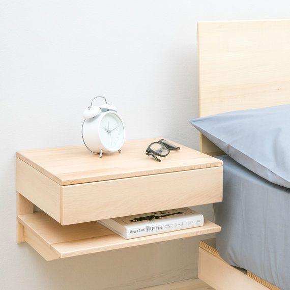 Floating Bedside Table Large Floating Bedside Table Bedside