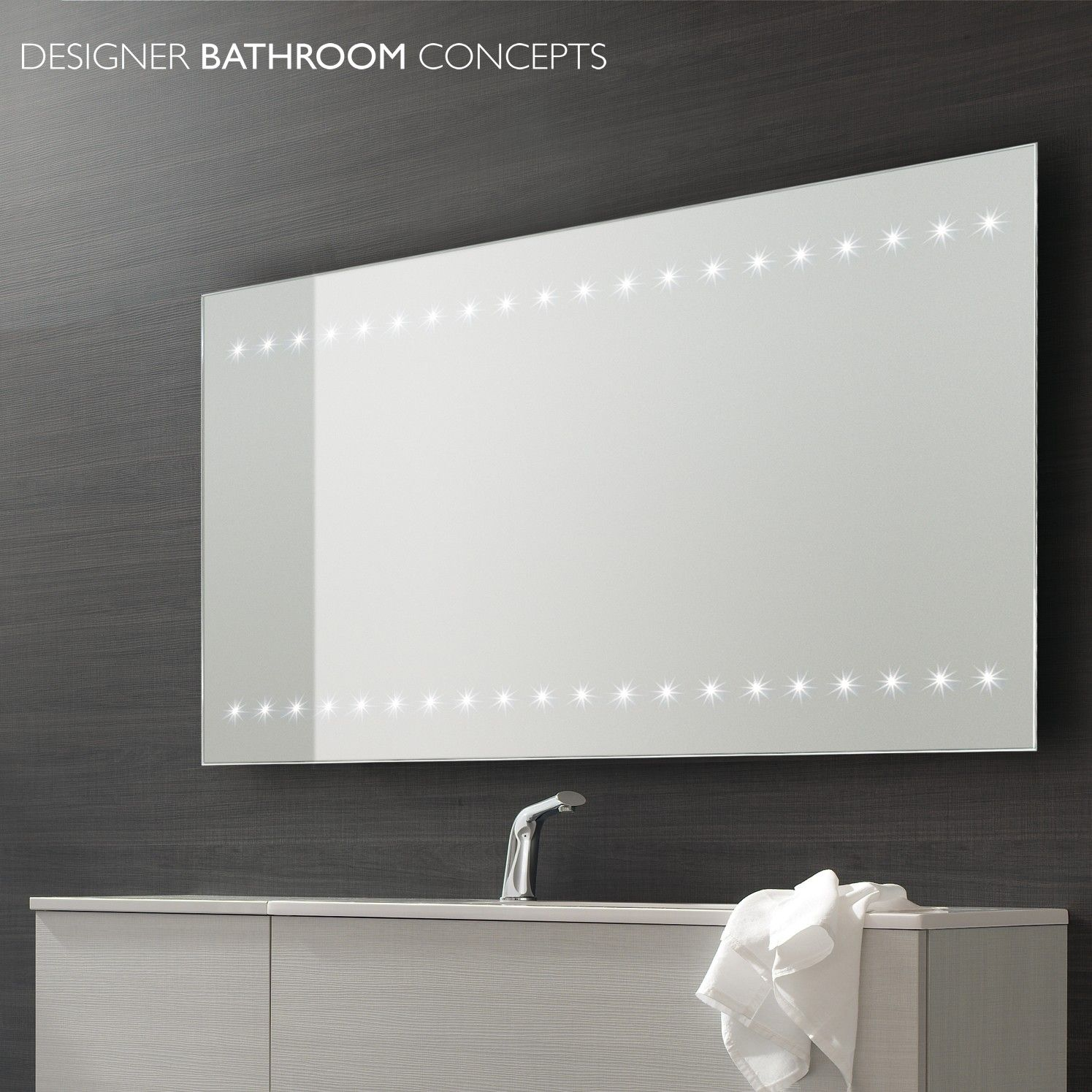 Large Bathroom Mirrors With Lights Home Decoration Ideas Designing Gallery To Design