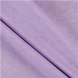 Rayon Spandex Jersey Knit Solid Lilac