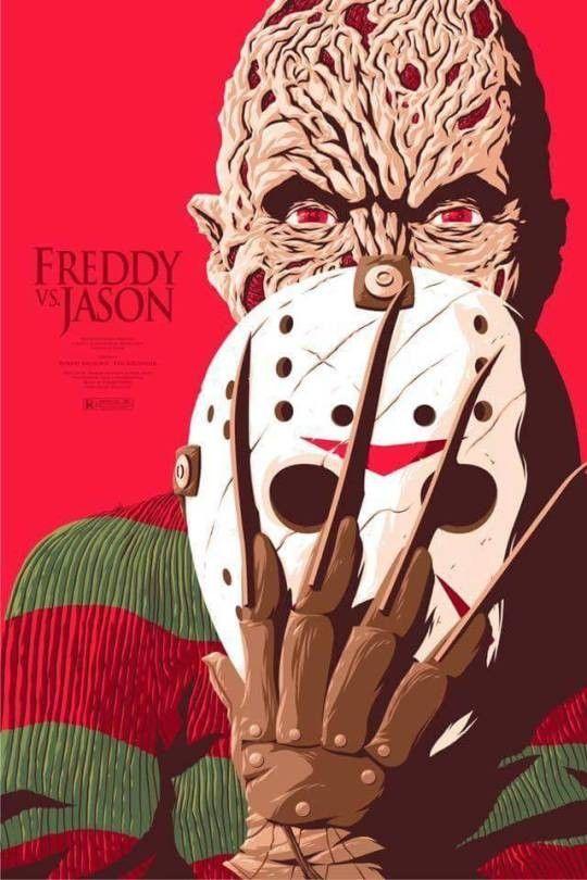 Freddy Krueger Vs Jason Voorhees Horror Movies Horror
