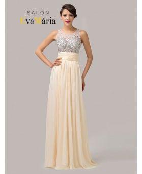 Dlhé spoločenské šaty na objednávku - Salonevamaria.sk  0963dd28fd3