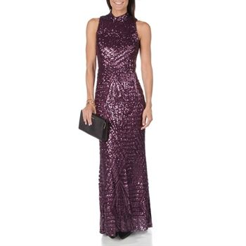 ce64477fe Vince Camuto Art-Deco Sequin Embellished Gown at Von Maur | Prom ...