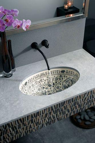 Kohler Sink Asoka Garden By Claytonspost Via Flickr Gorgeous Bathroom Designs Kohler Sink Sink